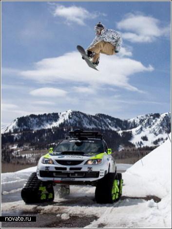 Автомобиль-снегоход от Subaru