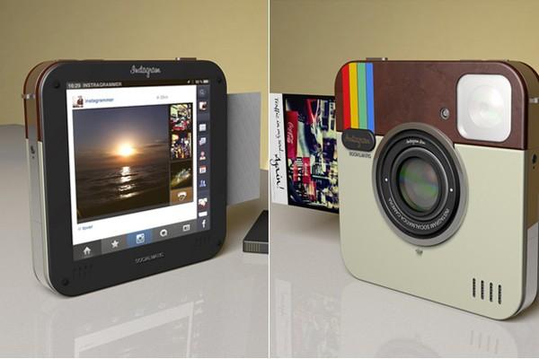 Фотокамера в стиле Instagram