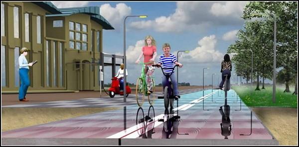 SolaRoad: как сделать велосипед еще более «зеленым» видом транспорта