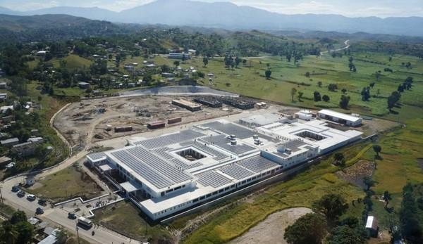 Universitaire de Mirebalais на Гаити – самая большая в мире солнечная больница