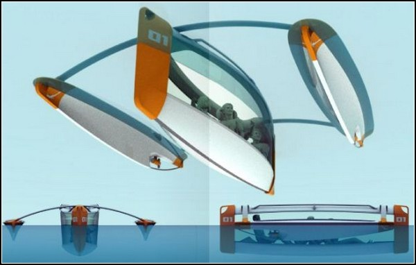 Подводная лодка на солнечных батареях