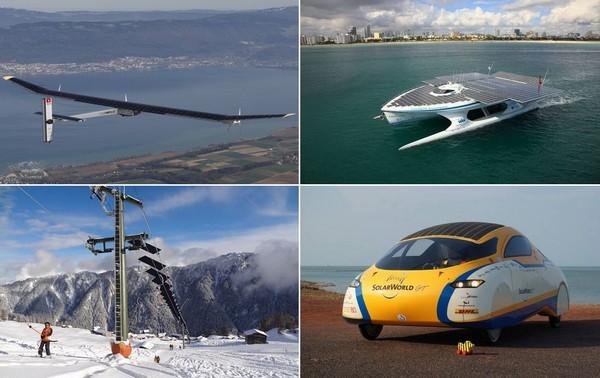 Транспортные средства на солнечной энергии