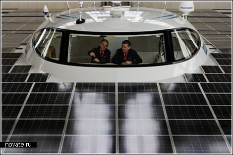 Самая большая в мире «солнечная» яхта