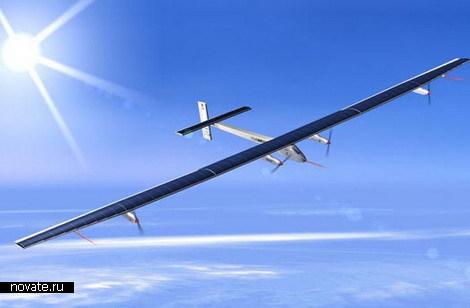 Аэроплан на солнечных батареях