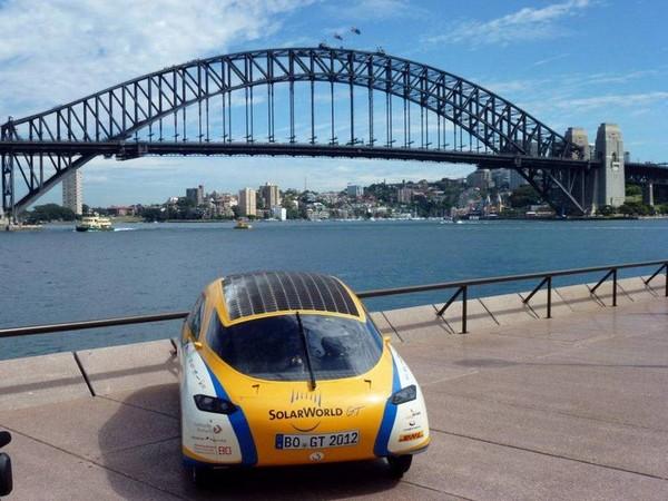 SolarWorld GT – мировое турне на солнечных батареях