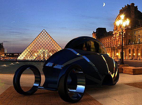 Soleil City Car – автомобиль, который можно сложить в чемодан