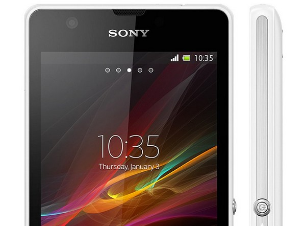 Sony Xperia ZR – водонепроницаемый смартфон