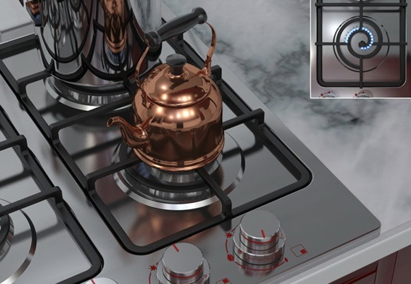 Spiral Burner – масштабируемая кухонная плита