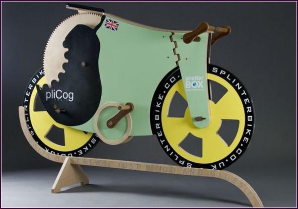 SplinterBike – деревянный велосипед-рекордсмен