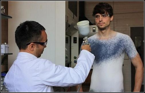 Сам себе модельер: аэрозольная ткань Fabrican