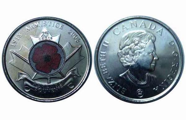 Шпионские канадские монеты