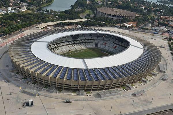 Минайран – бразильский стадион с солнечной крышей за 16 миллионов долларов