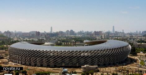 Стадион на солнечных батареях