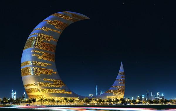 Лунный дом в Дубаи