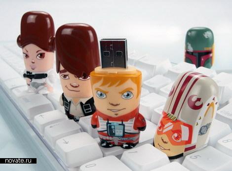 Флешки в виде героев «Звездных Войн»