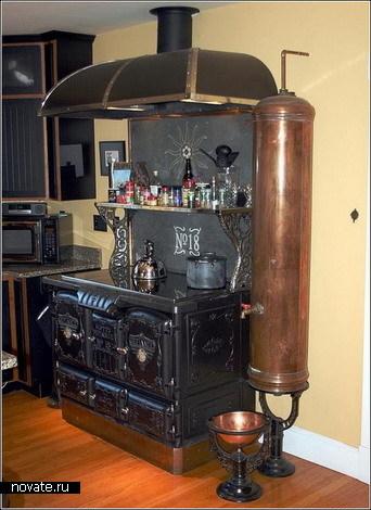 Стимпанковый дом – настоящая машина времени