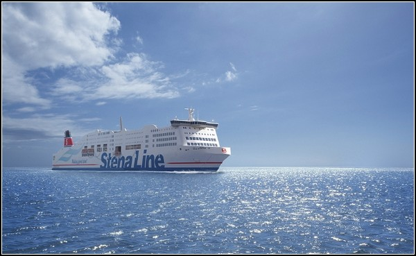 Stena Jutlandica – первый в мире паром на ветру
