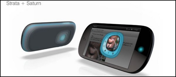 Strata + Saturn – телефон для одной руки