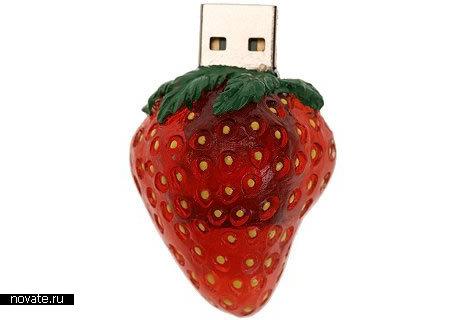 USB-хаб в виде земляничного торта