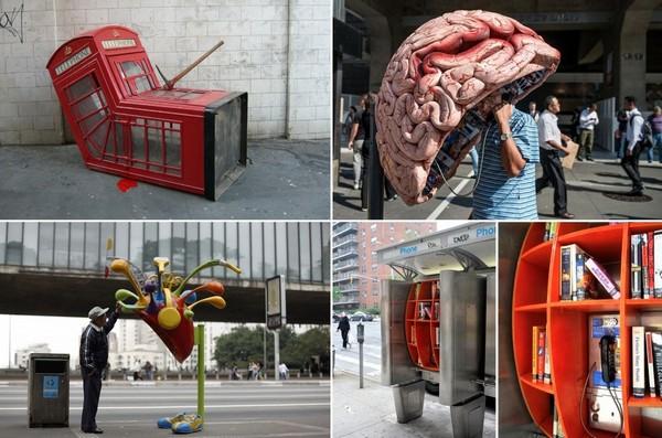 Самые необычные в мире телефонные будки