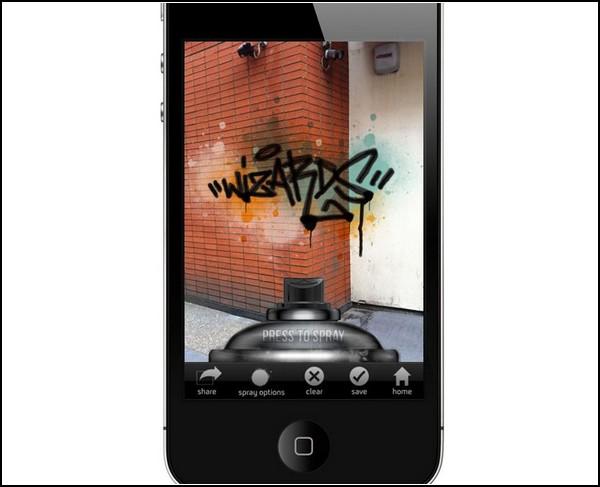 Граффити в телефоне, а не на стенах. Приложение Street Tag iPhone app