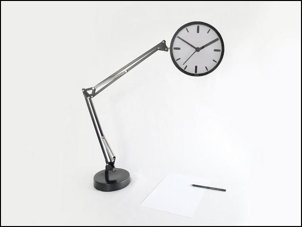 Настольные уличные часы от Studio Dreimann