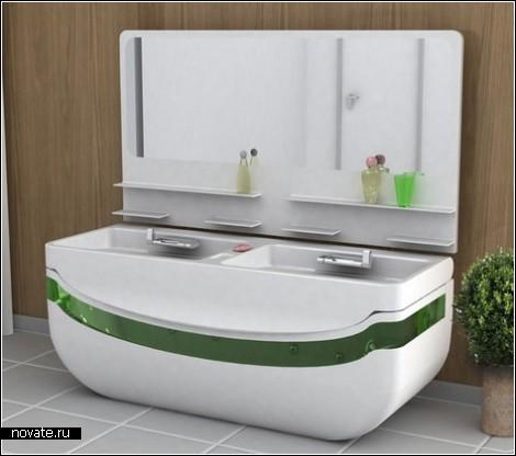 Ванна-трансформер для телеманьяков