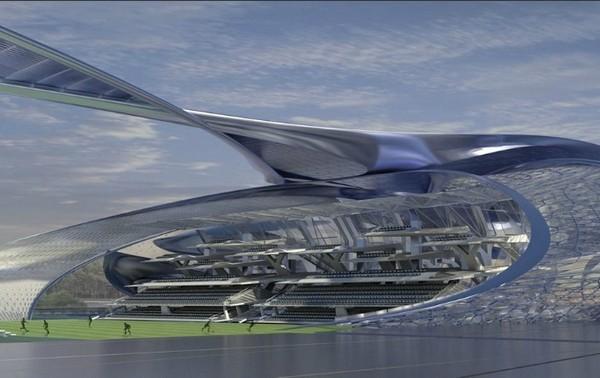 Неземной стадион для Сеула