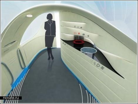 Сверхзвуковой самолет для корпоративных перелетов
