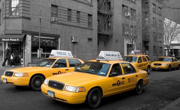 iPad в нью-йоркских такси