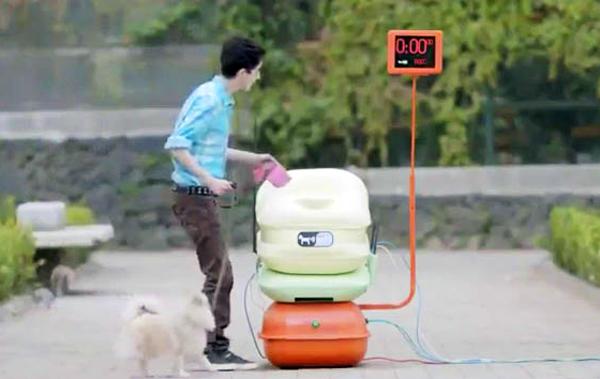 Интернет в обмен на собачьи какашки