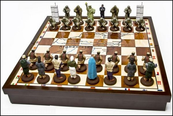 Антитеррористические шахматы Terror Chess Set