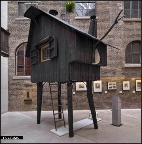 Избушка на курьих ножках: малая архитектура Лондона