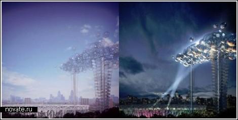 Искусственное облако к Лондонской Олимпиаде