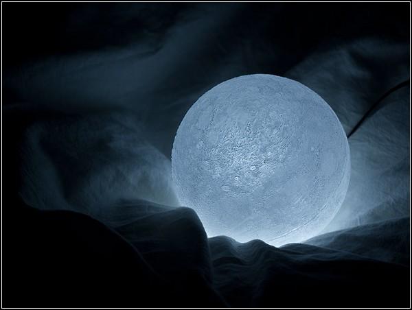 Лампа-луна The Moon