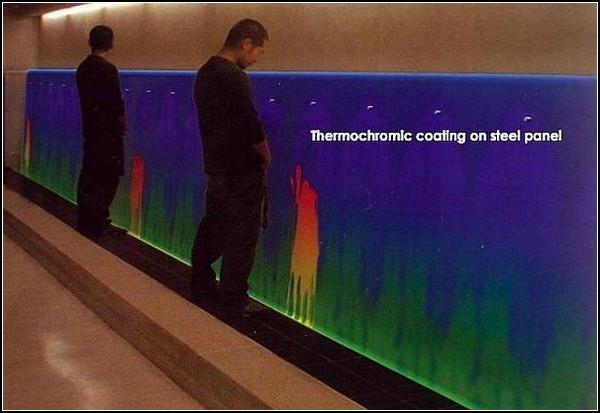 Thermochromic Urinal – самый необычный в мире альтернативный источник энергии