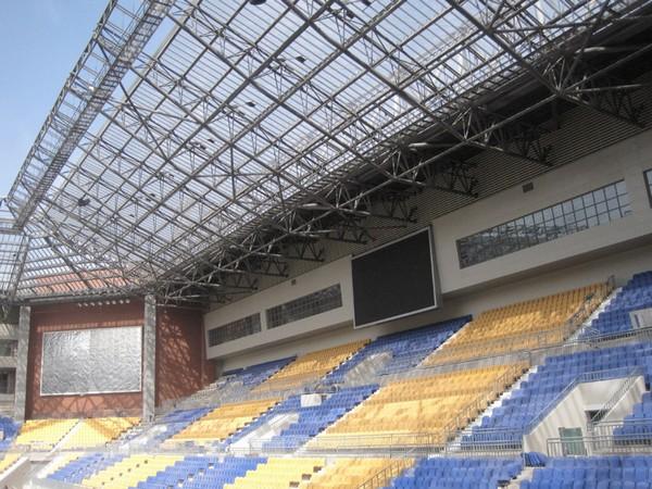 Экологичный стадион для китайского футбольного клуба Тяньцзинь Сунцзян