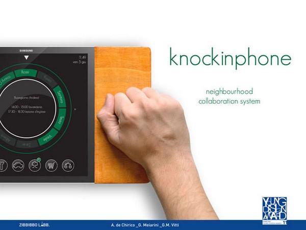 Мобильный телефон Knockin Phone для поиска друзей и компании