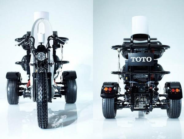 TOILET BIKE NEO – японский мотоцикл-унитаз в поддержку биогаза