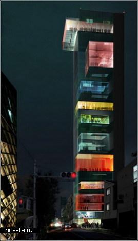 Музей моды на вертикальной улице