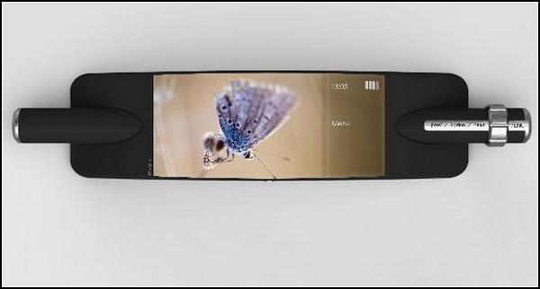 Мобильный телефон с волшебной палочкой