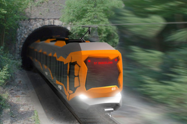 Alstom Deconstruccio – очень каталонский поезд