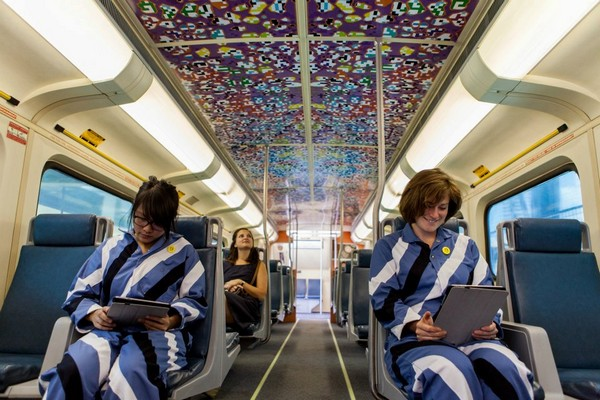 Art Train Conductor No. 9 – музей современного искусства на колесах