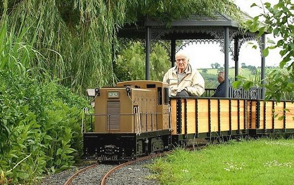 Домашний поезд от Билла Барритта