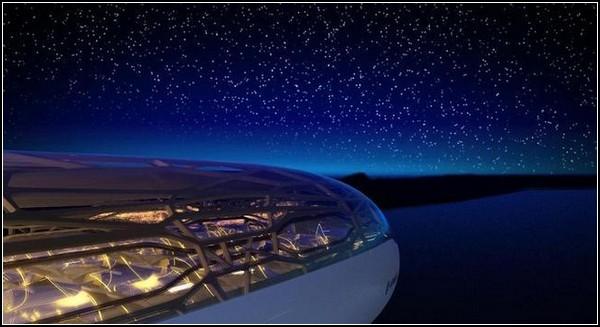 Прозрачный самолет Airbus