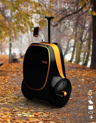 Travel Changer Suitcase – путешествуй с энергией