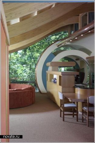 Авангардный жилой домик на дереве