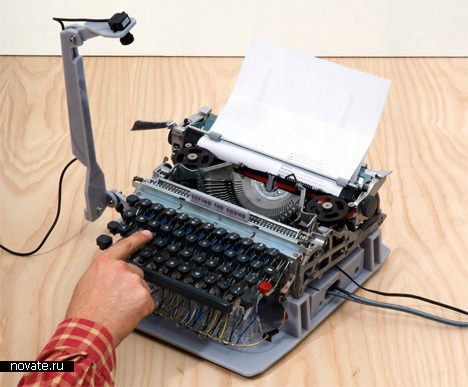 Музыкальная печатная машинка