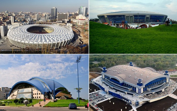 Лучшие спортивные сооружения Украины