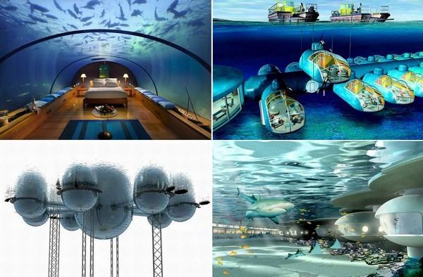 Самые необычные в мире подводные жилища